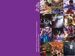 Rapport activité Fonds Musical