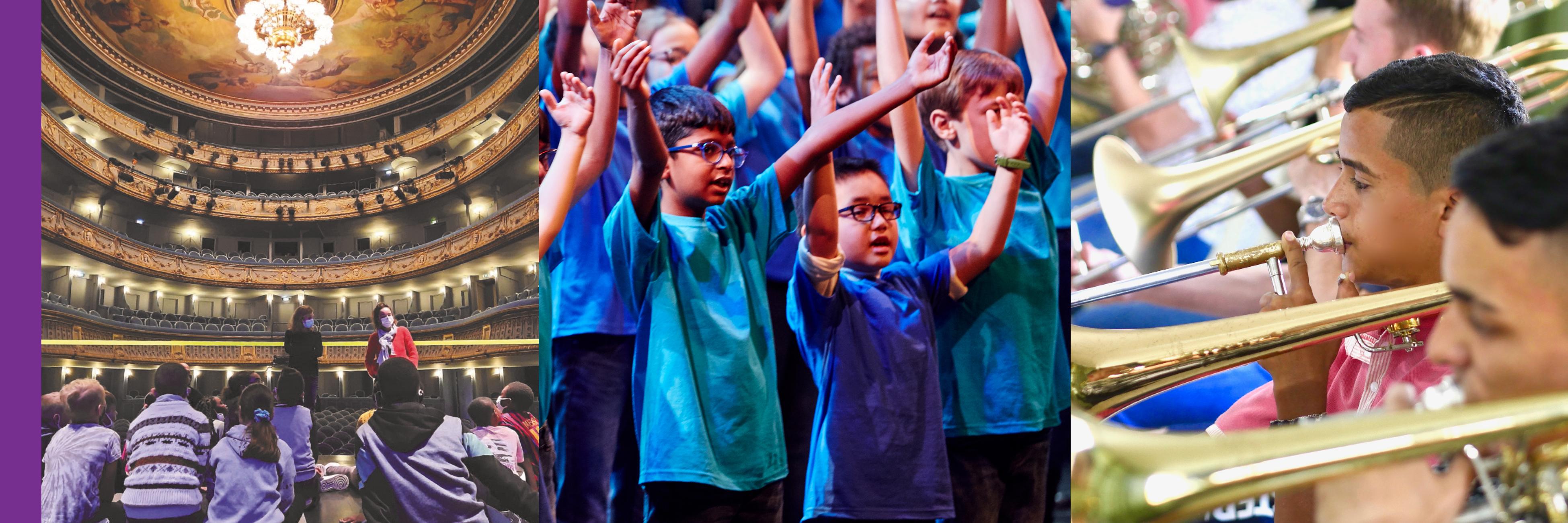 Bandeau rapport activité Fonds Musical Enfance Jeunesse